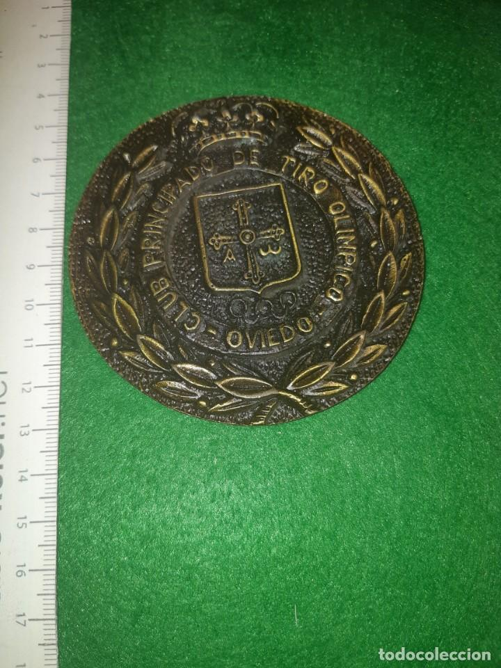 MONEDA CONMEMORATIVA CLUB TIRO PRINCIPADO, OVIEDO (Coleccionismo Deportivo - Medallas, Monedas y Trofeos - Otros deportes)