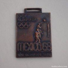 Coleccionismo deportivo: MEDALLA BALÓN-VOLEA OLIMPIADA MÉXICO 1968. Lote 165189222