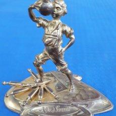 Coleccionismo deportivo: TROFEO DE BOLOS ALLE NEUN ALEMANIA VINTAGE. Lote 165605165