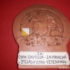 Coleccionismo deportivo: IX COPA ORIENTACIÓN COPA CASTILLA LA MANCHA 3º CLASIFICADO VETERANOS. Lote 166427562