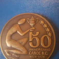 Coleccionismo deportivo: MEDALLA 50 ANIVERSARIO CLUD CANOE. Lote 166954492