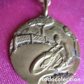 RALLYE MOTOCICLISMO AÑO 1955 PREMIO GANADOR PICOS DE EUROPA ASTURIAS 1955 . (Coleccionismo Deportivo - Medallas, Monedas y Trofeos - Otros deportes)