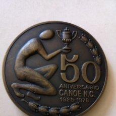 Coleccionismo deportivo: MEDALLA 50 ANIVERSARIO DE CANOE N. C 1928 1978. Lote 168460352