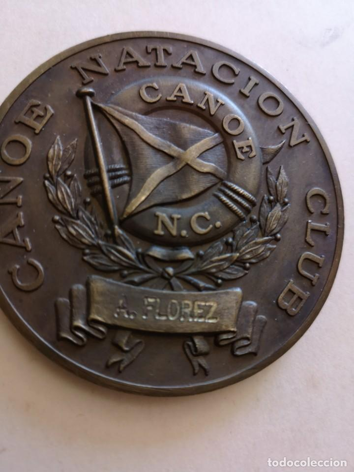 MEDALLA CANOE NATACION CLUD CAMPEÓN PROVINCIAL MASCULINO (Coleccionismo Deportivo - Medallas, Monedas y Trofeos - Otros deportes)