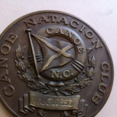 Coleccionismo deportivo: MEDALLA CANOE NATACION CLUD CAMPEÓN PROVINCIAL MASCULINO. Lote 168460764