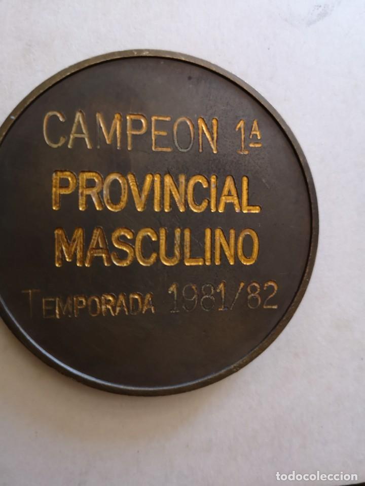 Coleccionismo deportivo: Medalla Canoe natacion clud campeón provincial masculino - Foto 3 - 168460764