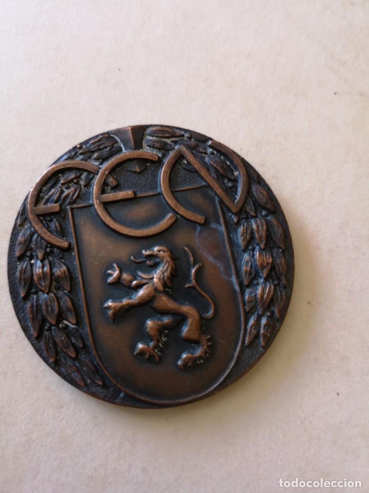 MEDALLA F. E. N ESPAÑA FRANCIA 1968 (Coleccionismo Deportivo - Medallas, Monedas y Trofeos - Otros deportes)