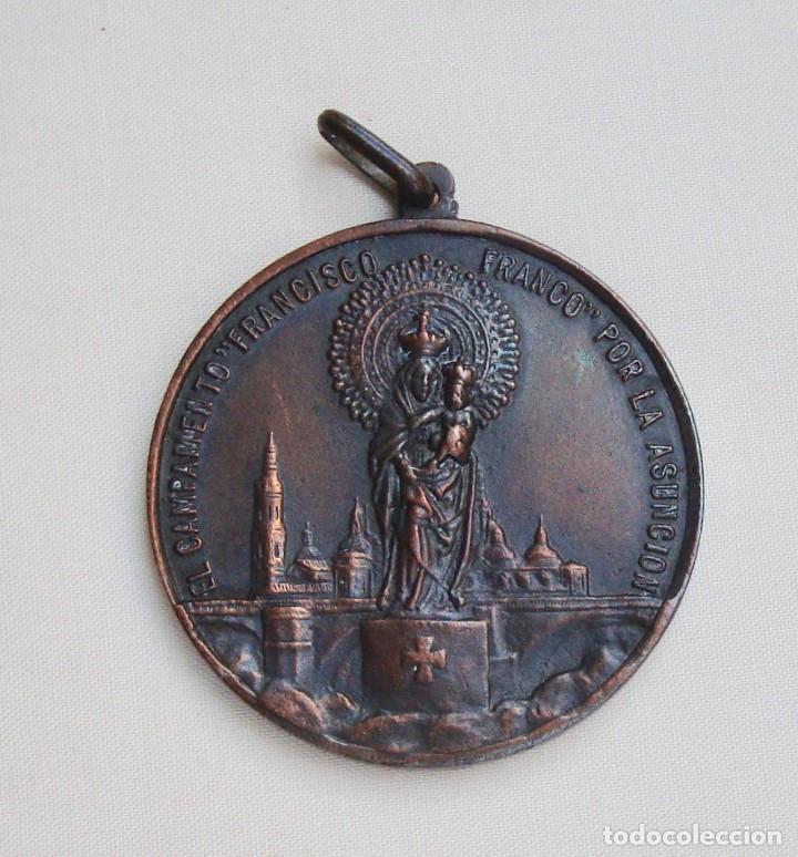 MEDALLA CAMPAMENTOS FRENTE DE JUVENTUDES (Coleccionismo Deportivo - Medallas, Monedas y Trofeos - Otros deportes)