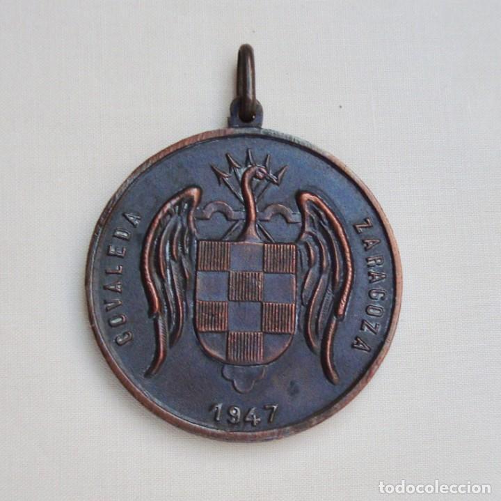 Coleccionismo deportivo: Medalla Campamentos Frente de Juventudes - Foto 2 - 168589888