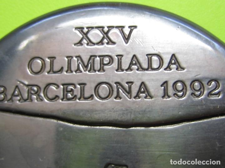 Coleccionismo deportivo: Medalla olimpiada de Barcelona 92 - Foto 4 - 168625072
