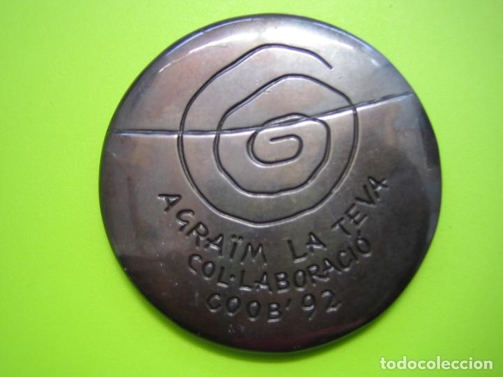 Coleccionismo deportivo: Medalla olimpiada de Barcelona 92 - Foto 5 - 168625072