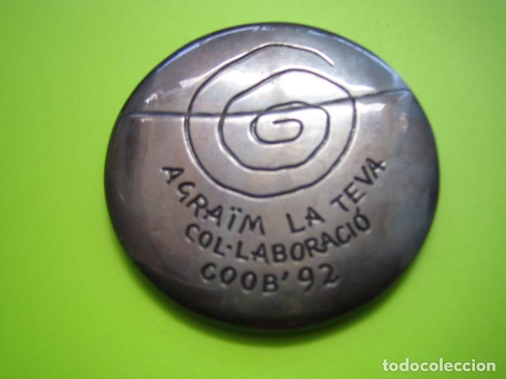 Coleccionismo deportivo: Medalla olimpiada de Barcelona 92 - Foto 6 - 168625072