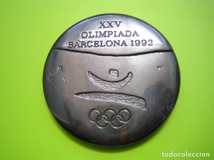 MEDALLA OLIMPIADA DE BARCELONA 92 (Coleccionismo Deportivo - Medallas, Monedas y Trofeos - Otros deportes)
