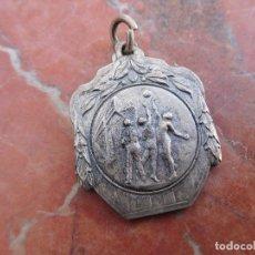 Coleccionismo deportivo: MEDALLA DE PLATA ANTIGUA BALONCESTO . Lote 168836560