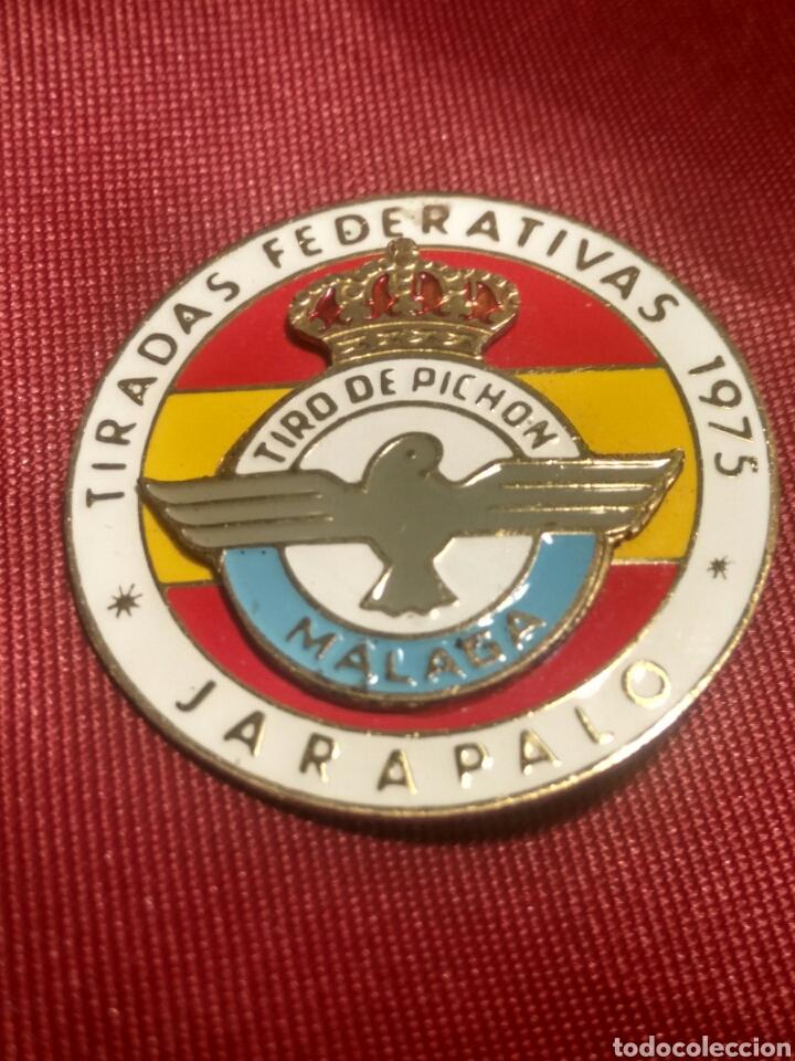TIRADAS FEDERATIVAS TIRO PICHON MALAGA (Coleccionismo Deportivo - Medallas, Monedas y Trofeos - Otros deportes)