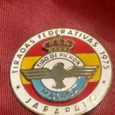 Coleccionismo deportivo: TIRADAS FEDERATIVAS TIRO PICHON MALAGA. Lote 169816432