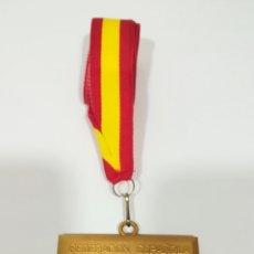 Coleccionismo deportivo: MEDALLA DE ORO - FEDERACION ESPAÑOLA DE REMO. Lote 170313098