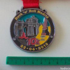 Collectionnisme sportif: MEDALLA MARATÓN DE MADRID 22-02-2012. Lote 170344953