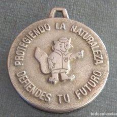 Coleccionismo deportivo: MEDALLA 1 CONCURSO NATURALEZA Y MEDIO AMBIENTE. Lote 172281948