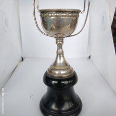 Coleccionismo deportivo: TROFEO COPA PLATA FIESTAS DE JULIO 1964 ATLETISMO J. VALES JOYERÍA LA CORUÑA. Lote 172925813