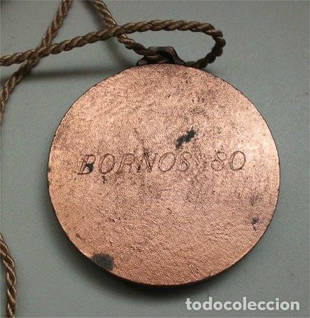Coleccionismo deportivo: Medalla de bronce campeonato de vela en Lago de Bornos (Cádiz) - 1980 - Foto 3 - 177823242