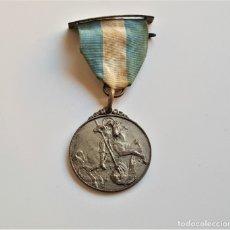Coleccionismo deportivo: MEDALLA DE PLATA PREMIO DE ASISTENCIA Y PUNTUALIDAD 1954-55 - 33.MM DIAMETRO 13 GRAMOS. Lote 177840725