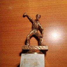 Coleccionismo deportivo: TROFEO PETANCA EN BRONCE. Lote 177860675