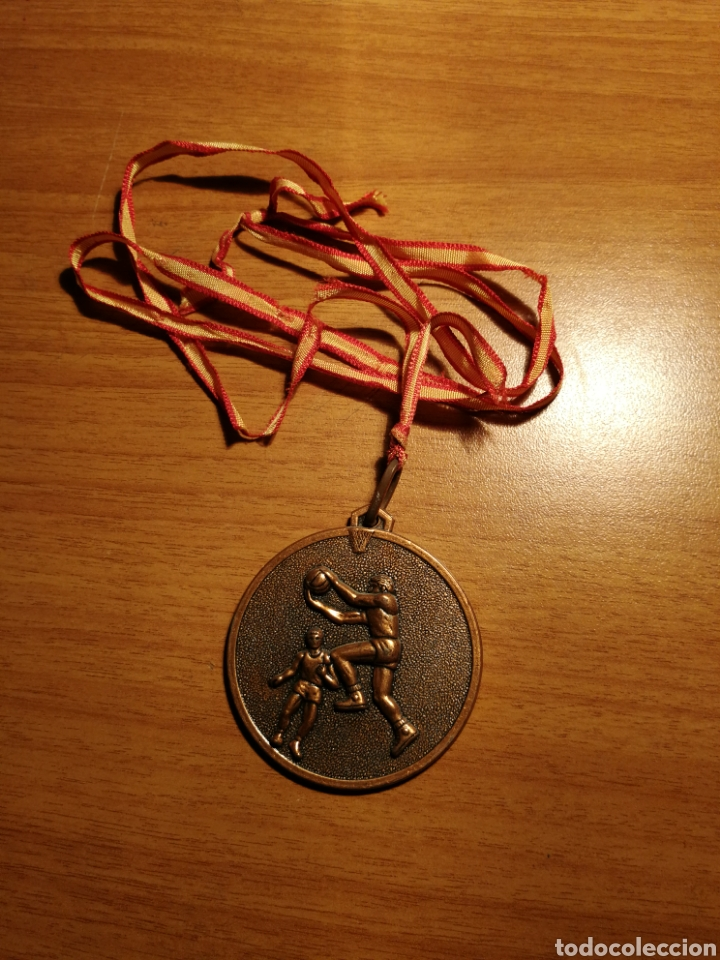 Coleccionismo deportivo: Medalla baloncesto - Foto 2 - 177861503