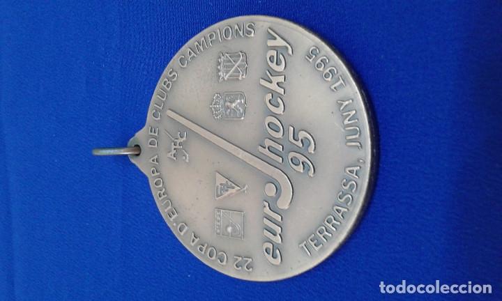 Coleccionismo deportivo: MEDALLA ATLETICO TERRASA HOCKEY CLUB 22 COPA DE EUROPA - Foto 3 - 178247016