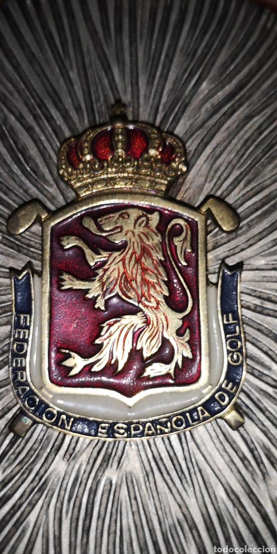 Coleccionismo deportivo: Medalla conmemorativa de la Federación Española de Golf - Foto 2 - 178640586