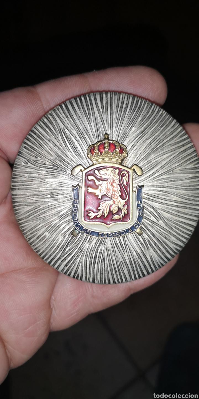 MEDALLA CONMEMORATIVA DE LA FEDERACIÓN ESPAÑOLA DE GOLF (Coleccionismo Deportivo - Medallas, Monedas y Trofeos - Otros deportes)