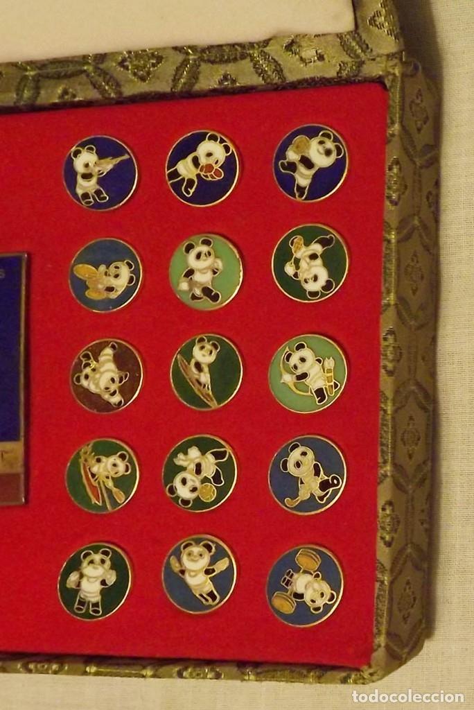 Coleccionismo deportivo: Pins de Beijing 1990 Asian Olympic Games 24K - Foto 4 - 178709526