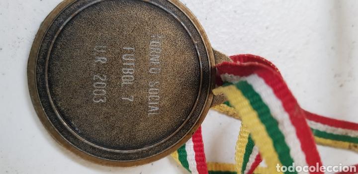 Coleccionismo deportivo: Medalla - ur la rioja - 2003 - car30 - Foto 2 - 180035475