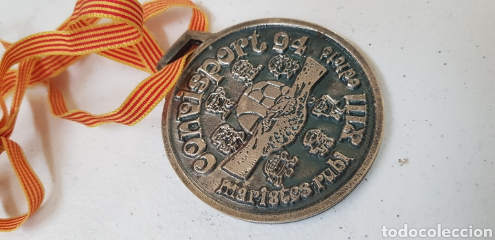 MEDALLA - MARISTES - RUBI - 94 - CAR30 (Coleccionismo Deportivo - Medallas, Monedas y Trofeos - Otros deportes)