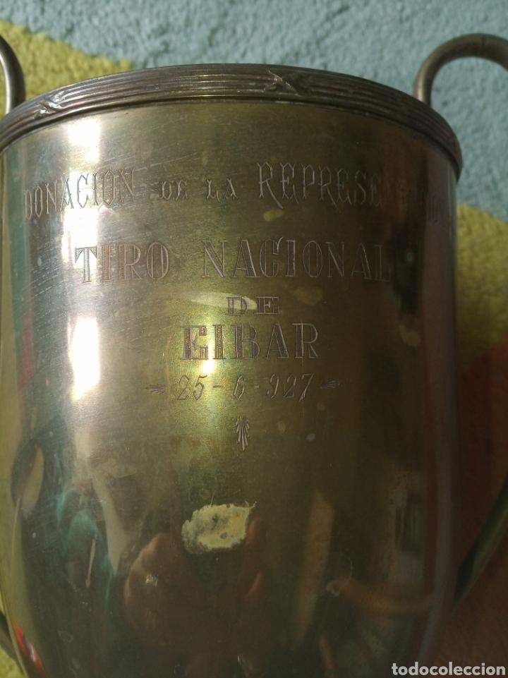 Coleccionismo deportivo: Trofeo. Tiro Nacional de Eibar, Año 1927 - Foto 2 - 181167902