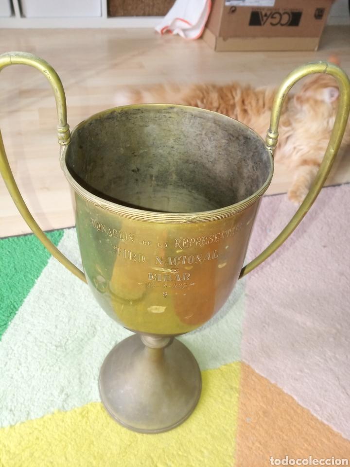 Coleccionismo deportivo: Trofeo. Tiro Nacional de Eibar, Año 1927 - Foto 3 - 181167902