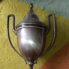 Coleccionismo deportivo: TROFEO ,TIRO AL PICHÓN, AMOREBIETA, 1924. Lote 181168218