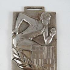 Coleccionismo deportivo: MEDALLA DELEGACIÓN DE JUVENTUDES BARCELONA 1969 - BALONCESTO JUVENIL - FRENTE DE JUVENTUDES FALANGE. Lote 189296778