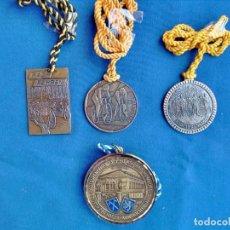 Coleccionismo deportivo: 4 MEDALLAS DE BRONCE DE ALEMANIA, DE CICLISMO.. Lote 189940893