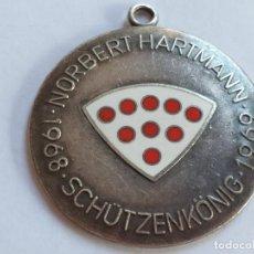 Coleccionismo deportivo: MEDALLA DE TIRADOR NORBERT HARTMAN 1968. ALEMANIA . Lote 190147541
