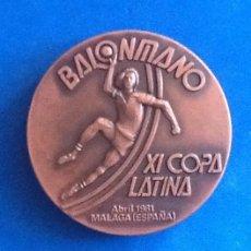 Collectionnisme sportif: BALONMANO. XI COPA LATINA.. MALAGA 1981. ENVIO INCLUIDO.. Lote 191374413