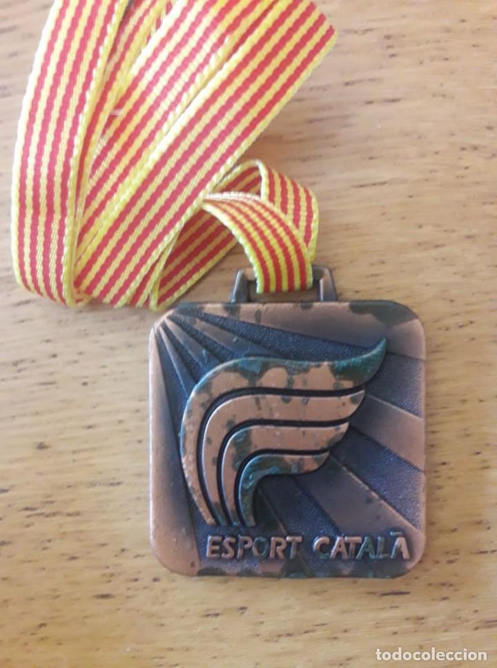 MEDALLA DE BRONCE ESPORT CATALÀ / GENERALITAT DE CATALUNYA (Coleccionismo Deportivo - Medallas, Monedas y Trofeos - Otros deportes)