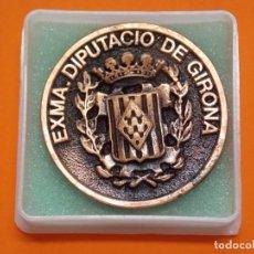 Coleccionismo deportivo: MEDALLA DE METAL - EXMA DIPUTACIÓ DE GIRONA - GRABADA - X ANIVERSARI CBS GIRONA 1997 .. L603. Lote 192717358