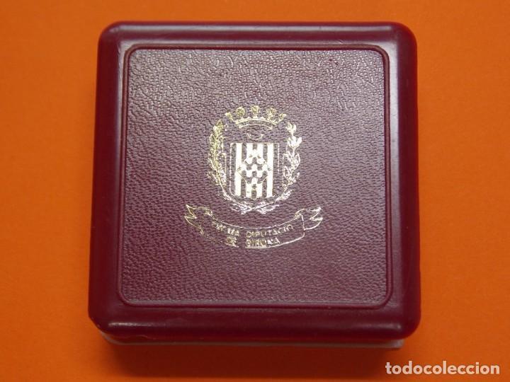 Coleccionismo deportivo: MEDALLA DE METAL - EXMA DIPUTACIÓ DE GIRONA - GRABADA - X ANIVERSARI CBS GIRONA 1997 .. L603 - Foto 4 - 192717358