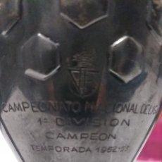 Coleccionismo deportivo: TROFEO PLATA CAMPEONATO NACIONAL DE LIGA 1ªDIVISION TEMPORADA 1952-53. Lote 194159776