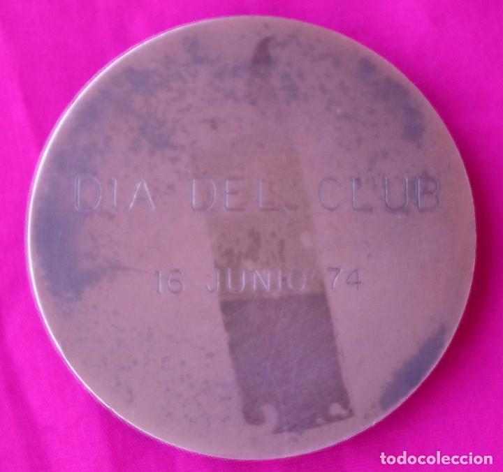 Coleccionismo deportivo: Peña Motorista Diez por Hora Medalla commemorativa Dia del Club, 16 de junio 7415 - Foto 3 - 194709531