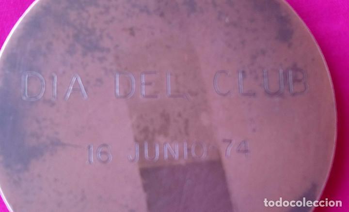 Coleccionismo deportivo: Peña Motorista Diez por Hora Medalla commemorativa Dia del Club, 16 de junio 7415 - Foto 4 - 194709531