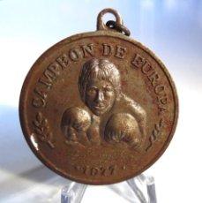 Coleccionismo deportivo: ALFREDO EVANGELISTA. LLAVERO HOMENAJE CAMPEÓN DE EUROPA 1977.PESOS PESADOS. LINCE DEL RING URUGUAY. Lote 195023207