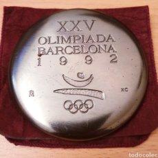 Coleccionismo deportivo: MEDALLA OFICIAL XXV OLIMPIADA BARCELONA 92. Lote 195250615