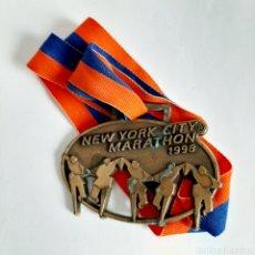 Coleccionismo deportivo: MEDALLA MARATÓN DE NUEVA YORK * NEW YORK CITY MARATHON 1998. Lote 195265627